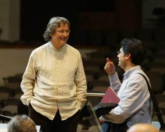 Amb Jean-Jacques Kantorow, Granada, abril 2006