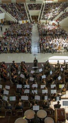 Homenatge a Lluís Companys i als músics represaliats pel franquisme. Comissió per la Dignitat. Orquestra Simfònica de l'ESMUC. Sala Oval MNAC, 11.10.2015