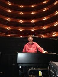 Assaig La Bohème, Gran Teatre del Liceu, juny 2016