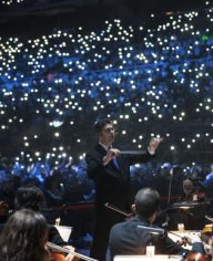 Gran Concert per a les Persones Refugiades. Casa nostra, casa vostra. La Fura dels Baus, Coral Càrmina, Orquestra Simfònica de l'ESMUC. Palau Sant Jordi, 11.2.2017