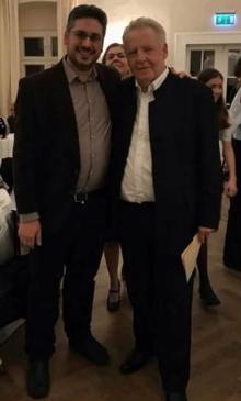 Amb el Prof. Georg Mark, Gumpoldskirchen (Àustria), 20.1.2018