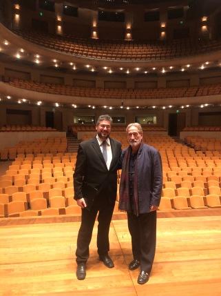 Amb Jordi Savall, Teatro Mayor Julio Mario Santo Domingo, Bogotà (Colòmbia), 10-11-2019