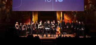 Concert Rèquiem de J. Rutter, Coral Càrmina, Chor Audite Nova Zug i Orquestra del Reial Cercle Artístic, Barcelona, 13.10.2018 (foto: Elisenda Canals)